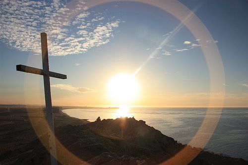cross sunrise